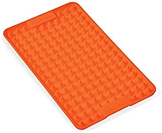 Silikomart 23.028.72.0062 Petit Tapis en Silicone, Forme Rectangulaire, Orange, 0,7 x 19 x 9,5 cm