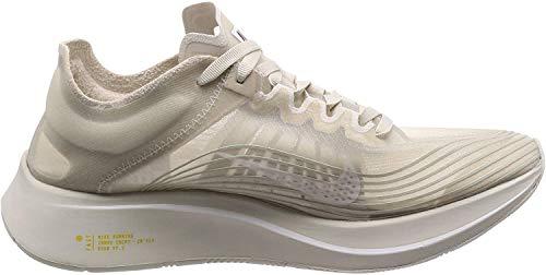 Nike Mens Zoom Fly Athletic Trainer Running Shoes (9.5 M US, Light Bone White)