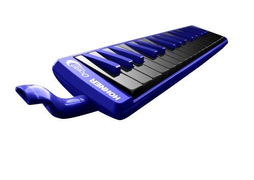 Hohner 32O 32-Key Piano-Style Ocean Melodica, Blue