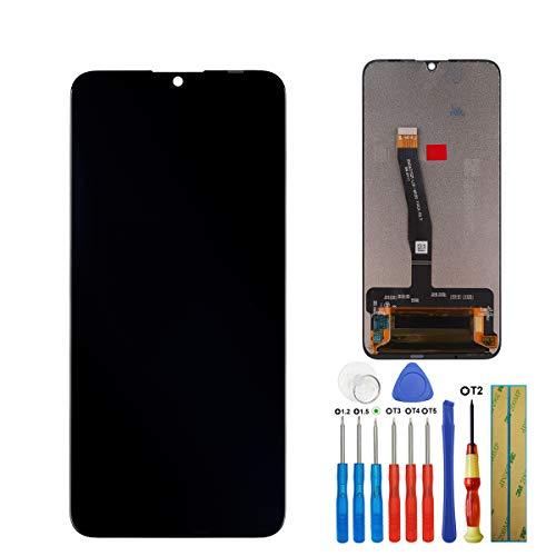 E-yiiviil Neuer LCD Display kompatibel mit Huawei P smart 2019 LCD Display Touchscreen Bildschirm Digitizer Assembly Schwarz