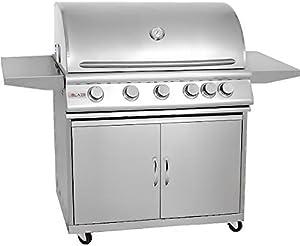 Blaze 40-Inch Grill (BLZ-5-LP-BLZ-5-CART), Freestanding, Propane Gas