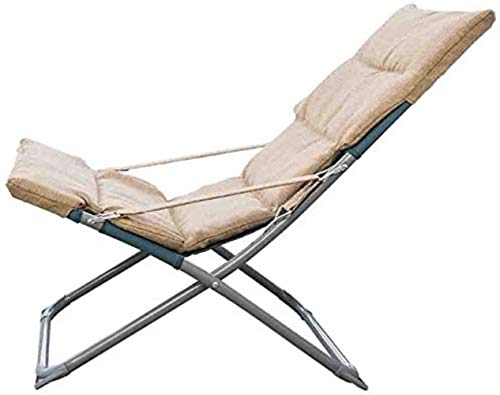 Sun Lounger Lounge chairs Fold-up chair Small armchair Small armchair Lunch break Portable Three-speed adjustment 2 colors xiuyun (Color : B)