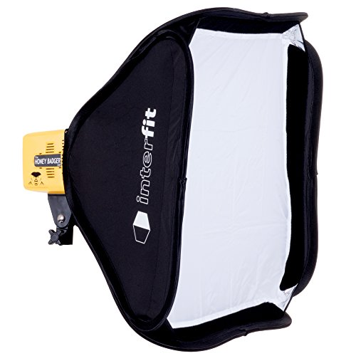 Interfit Honey Badger 320Ws Flash Head, Compact, Yellow (HB320)