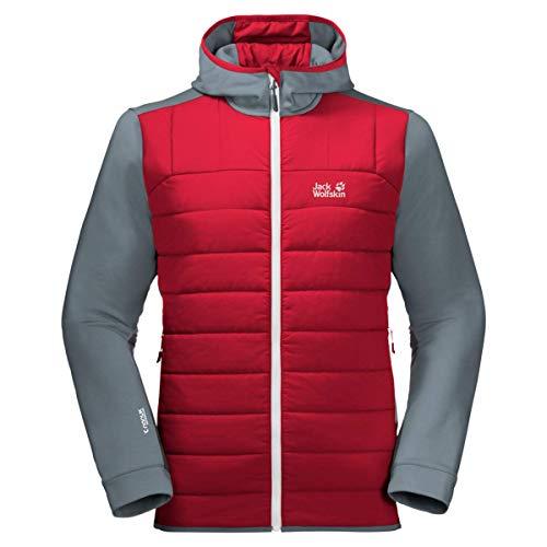Jack Wolfskin Unisex Crossing Peak Jacket Herren Jacke XL Storm Grey