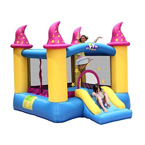 XGYUII Bouncy Kasteel Voor Kinderen Slide Waterglijbaan Klimmen Slide Springen Trampoline Bouncer Huis Speel Plezier Paddling Zwembad