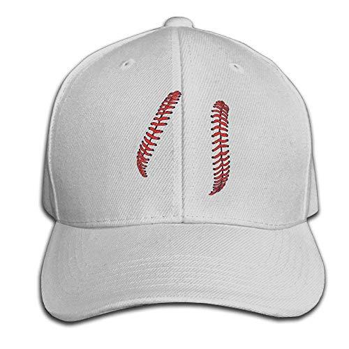 Helen vi Baseball Schnürsenkel Softball Schnürsenkel Mens Womens verstellbare Snapback Curved Visor Hat Baseball Cap