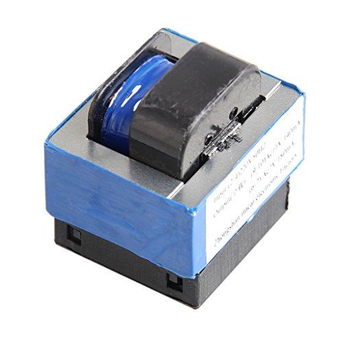 YRCHENGLI AC 220V to 11V/7V 140mA/180mA 7-pin Microwave Oven Power Transformer Cooktop Parts Silver Tone, Blue, Black