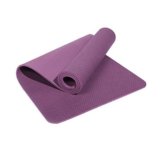 SKK Reyoga Yoga Tappetino Yoga Due Lati Antiscivolo Premium Yoga Mat Non Spesso supplementare di Slittamento Non Yoga Mats for Le Donne con la Cinghia di Trasporto Palestra Tappeto