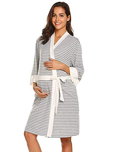 LZJDS Pijama de maternidad para mujer, camisón de...