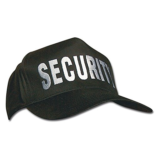 Mil-Tec Baseball Cap SECURITY schwarz