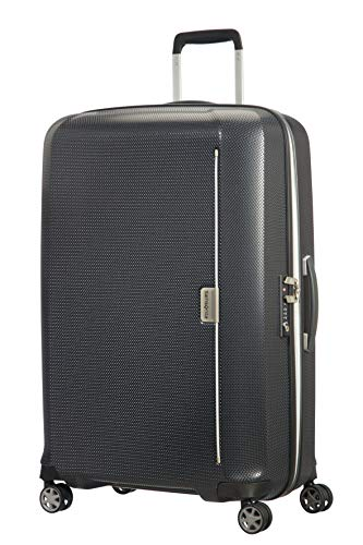Samsonite Mixmesh - Spinner Large Koffer, 75 cm, 93 Liter, Graphite/Gunmetal