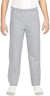 Gildan Little Kids Elastic Bottom Youth Sweatpants Sport Grey Medium [並行輸入品]
