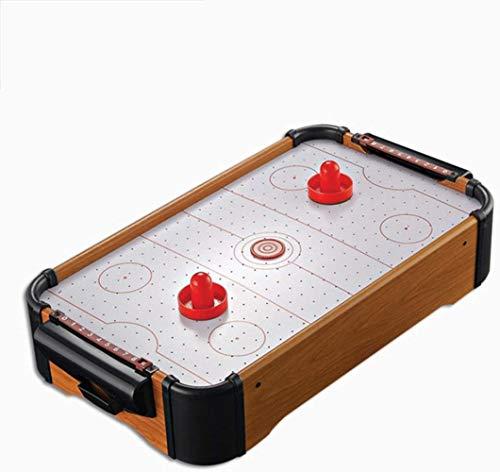 JSY Eishockey Tabelle Fußball Kickertisch Billardtisch Tischtennistisch Tisch Air-Hockey-Spiel for Kinder/Erwachsene/Familie Kreatives Spielzeug for Jungen und Kinder Leichte und Mobile Party Game