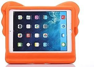 Orange Color Cute Kids Shock Proof Elephant Trunk Foam EVA Stand Case Cover For iPad 6/Air 2