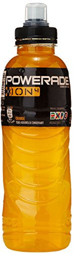 Powerade Orange ION 4, Isotonic Sports Drink, PET - 0.5L
