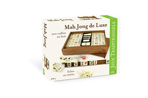 Smir–37202–Gesellschaftsspiel–Coffret de mAh-Jongg Luxe