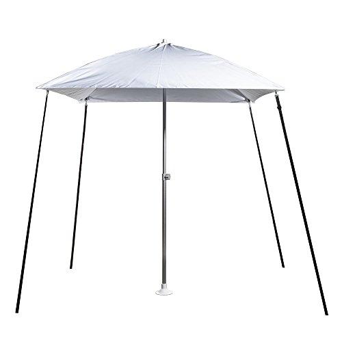 Protecq Sonnenschirm - Bimini - Sonnenschutz - Sonnensegel Boot - weiß