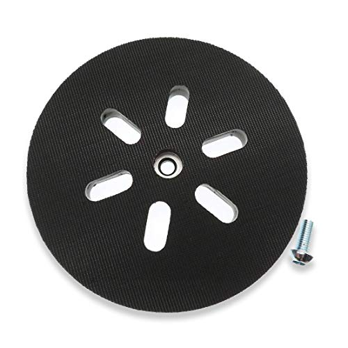 6 inch Sanding Pad for Compatible with Bosch Sander 3727DVS 3727DEVS 1250DEVS ROS65VC,Replacement Hook and Loop Sanding Backing Pad Pack of 2