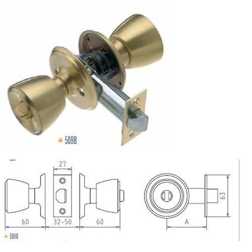 Mondragon - Pomos 509B 3-3 De 70 Mcm
