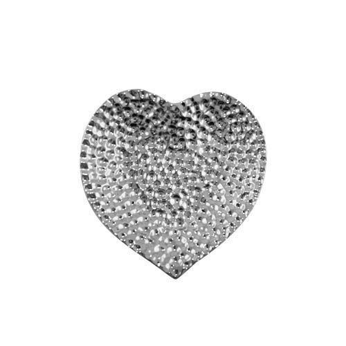 Kaheku Teller Levano Herz Silber 13x12,5x2cm