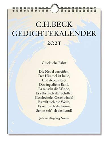 C.H. Beck Gedichtekalender: Kleiner Bruder 2021 (37. Jahrgang)
