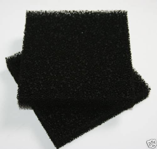 Avocations Ltd 10 x Carbon Aquarium Filter Foams Juwel Standaard