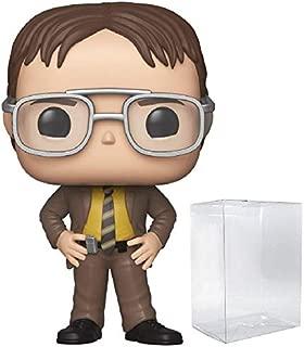 Funko TV: The Office - Dwight Schrute Pop! Vinyl Figure (Includes Compatible Pop Box Protector Case)