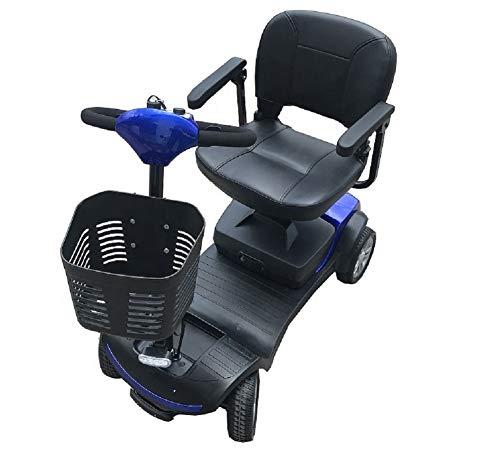 Kompakt Elektromobil/Mobilitätshilfe/Seniorenmobil SW1000S 6 KM/H Neu (Blau)