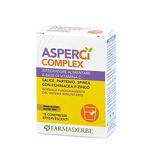 Farmaderbe Asper Ci Complex 18 Cpr - 80 g