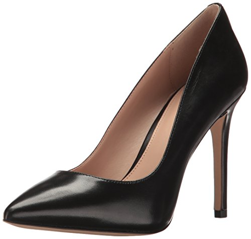 BCBGeneration Women's Heidi Pump, Black Leather