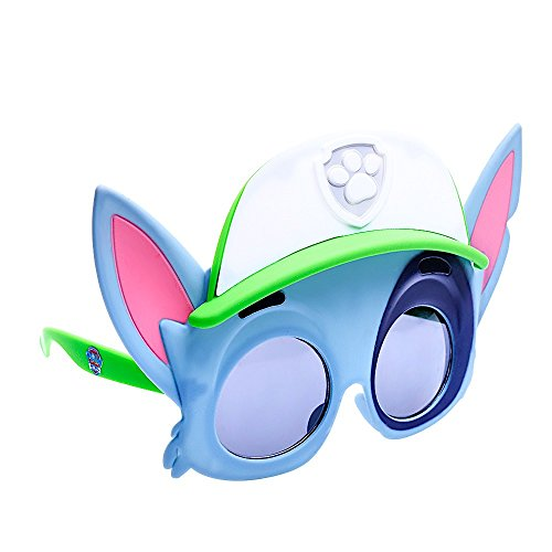 Sun-Staches Costume Sunglasses Rocky Paw Patrol Party Favors UV400