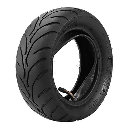 Alextry 90/65/6.5 110/50/6.5 - Neumático Delantero y Trasero para Bicicleta de Bolsillo pequeña de 47 CC y 49 CC, 110/50-6.5