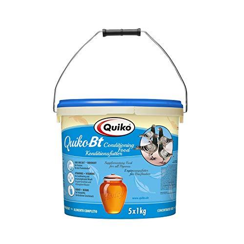 Quiko Bt 5000g (5 x 1kg) - Reise- & Konditionsfutter für Brief- & Ziertauben