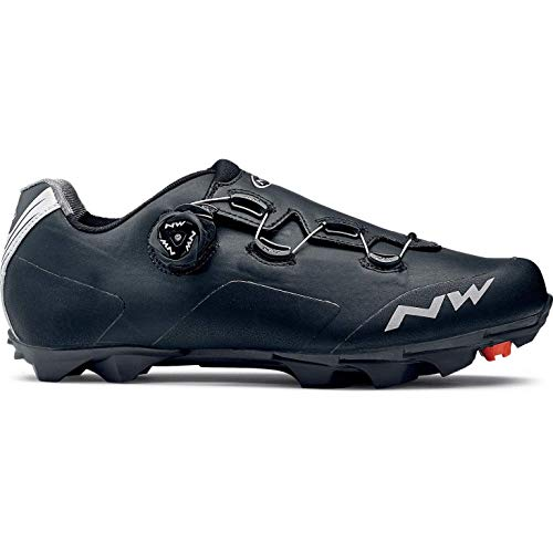 NORTHWAVE Zapatos NW Raptor TH, Zapatillas Unisex Adulto, Black, 42 EU