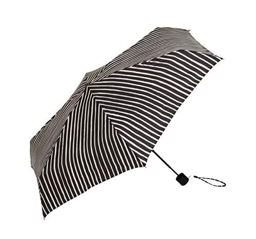 Marimekko - Piccolo Mini Regenschirm, schwarz/weiß