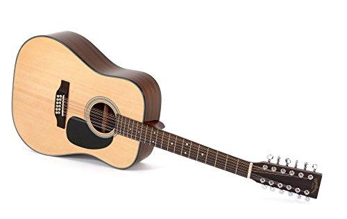 Western-Gitarre Sigma DM12-1ST 12-saitig
