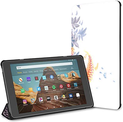 Custodia per tablet Chinese Delicious Lychee Fire Hd 10 (9a settima generazione, versione 2019 2017) Custodia rigida per KindleFireHd 10 Auto Wake Sleep per tablet da 10,1 pollici