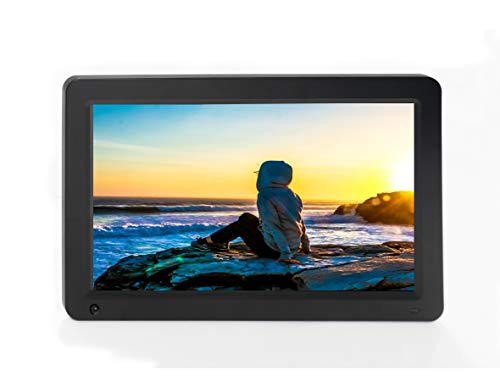XORO CPF 16B1 Digitaler WiFi Bilderrahmen 39,6cm (15.6 Zoll) mit Cloud Funktion + App, Bewegungssensor, Fernbedienung