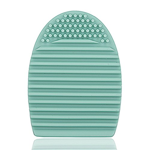 Frcolor Silicone maquillage pinceau oeuf brosse cosmétiques nettoyage outil Pack de 3(Mint Green) de lavage des œufs