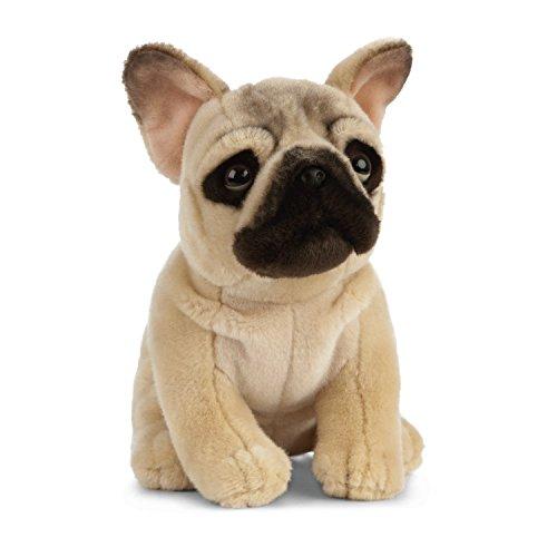 Living Nature Soft Toy - Stofftier Französische Bulldogge (20cm)