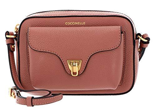 Coccinelle Borsa a Tracolla Colore Rosa Modello Beat Soft Mignon in Pelle Donna 18x12x8 cm