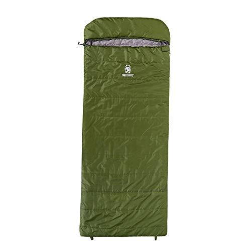 Générique OneTigris ROC Sac de Couchage Extra Large 3 Saisons pour Adultes Jungle Survie Camping Randonnée Nemo Sac de Couchage, OD