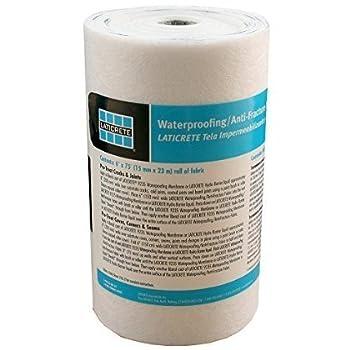 laticrete waterproofing membrane fabric