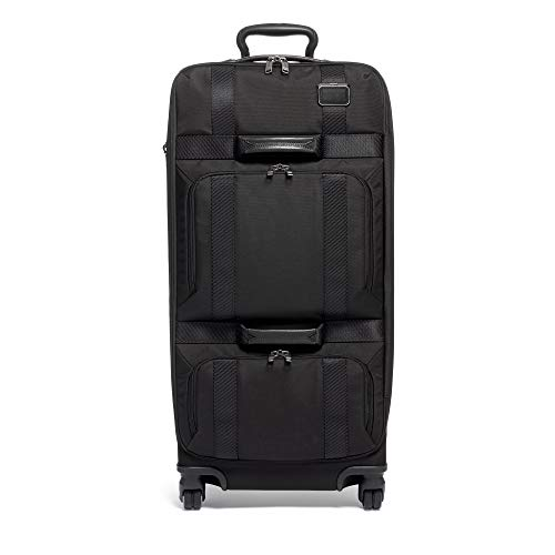 TUMI - Merge Tall 4 Wheeled Duffel Packing Case Suitcase - Rolling Luggage for Men and Women - Black