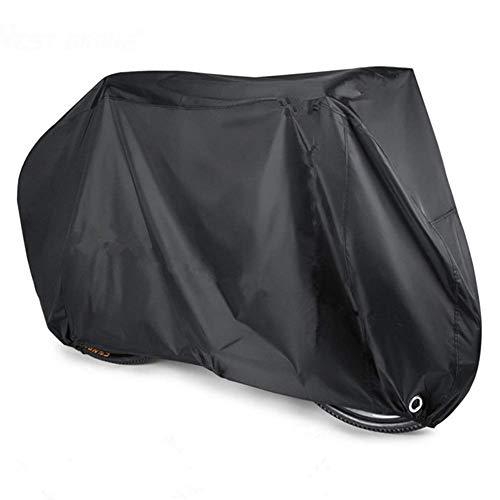Cubierta De Bicicleta, Impermeable 190T Oxford Tela Garaje De Bicicleta Tarpaulina con Protección contra El Castillo Protección para La Bicicleta De Montaña