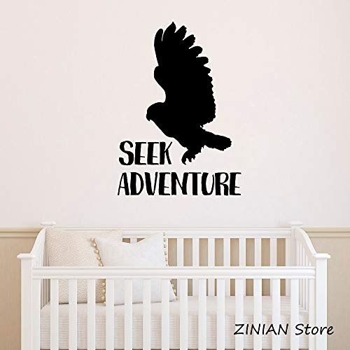zhuzhuwen, gele bloemen, wandsticker, seek Adventure S Animal Studio Sticker Office Muurstickers 42X59Cm