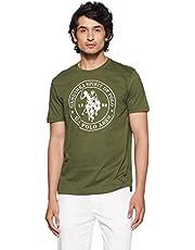 U.S. Polo Assn. Men's Solid Regular Fit T-Shirt