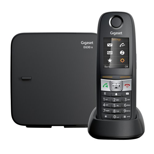 Gigaset E630A Robust Cordless Phone with Answering Machine
