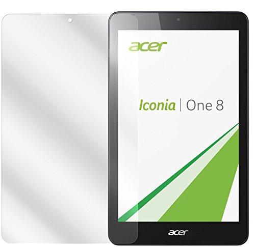 dipos I 2X Schutzfolie klar kompatibel mit Acer Iconia One 8 B1-830 Folie Bildschirmschutzfolie