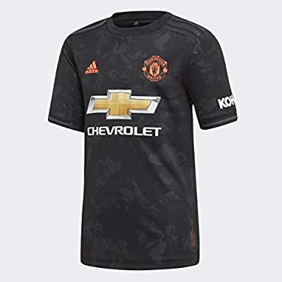adidas 2019-20 Manchester United YOUTH Third Jersey - Black M